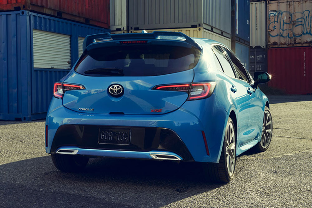 toyota corolla hatchback 2019 el auris estadounidense. Black Bedroom Furniture Sets. Home Design Ideas