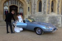 Jaguar E-Type Zero Concept Harry y Meghan