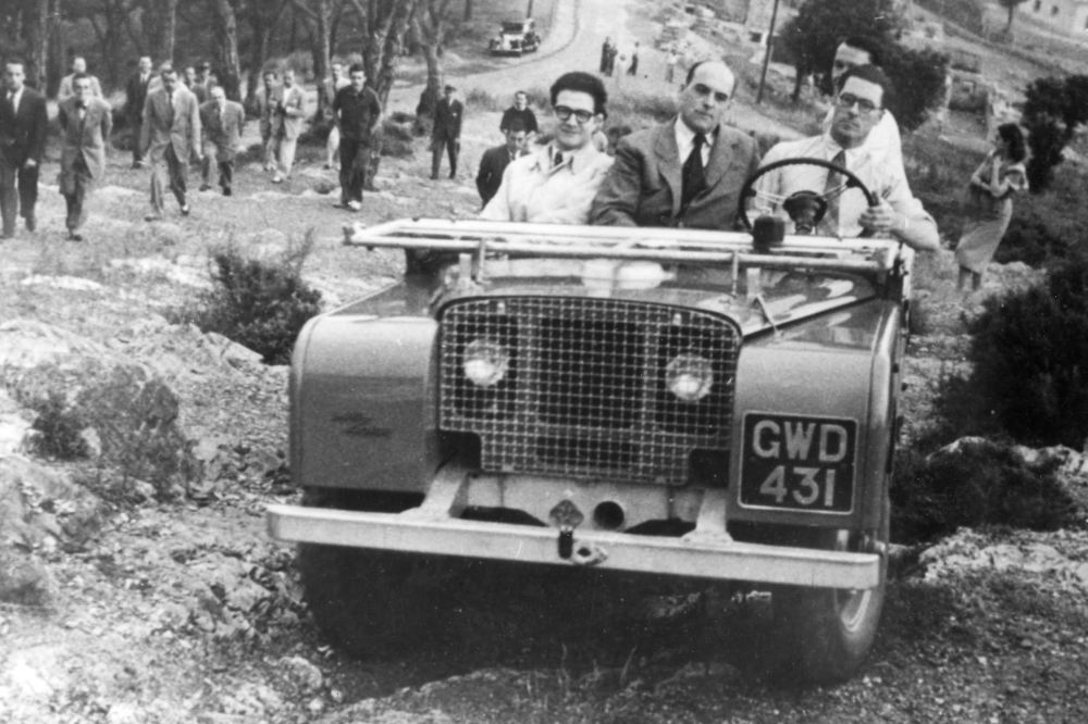 Land Rover prototype L03 1948