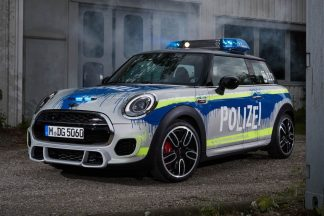 MINI John Cooper Works Polizei Car
