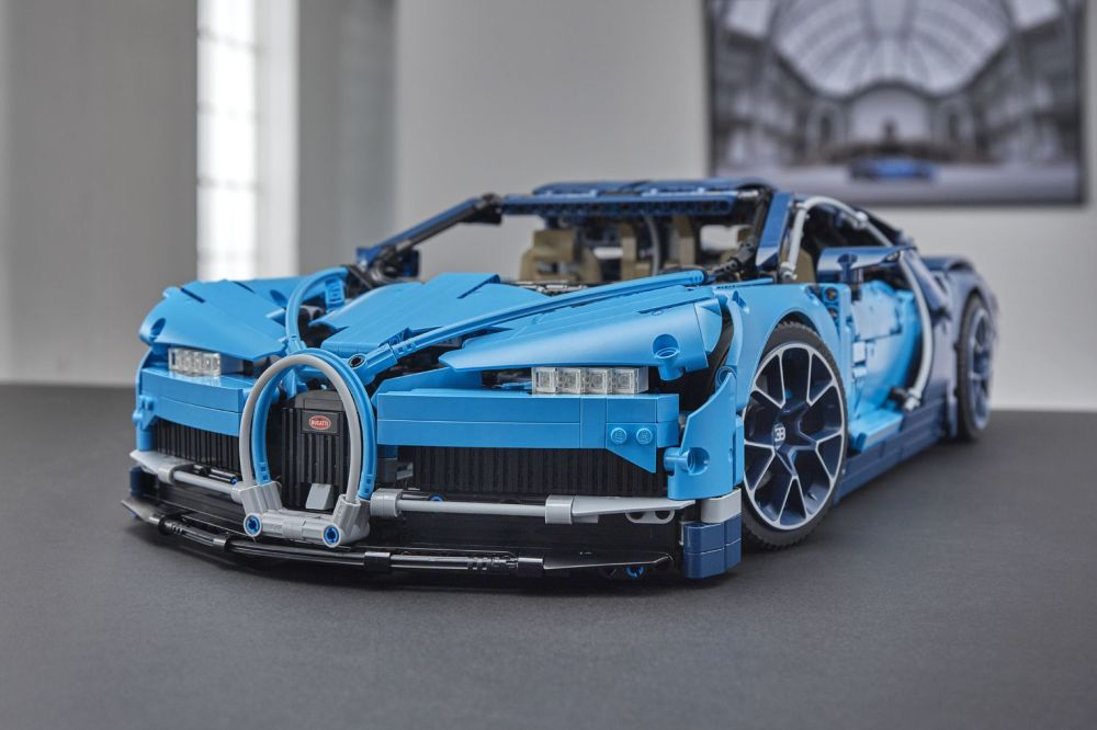 el bugatti chiron de lego technic tiene piezas. Black Bedroom Furniture Sets. Home Design Ideas