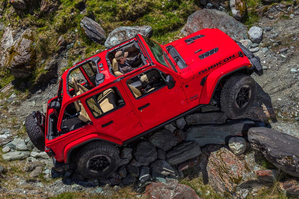 prueba off-road Jeep Wrangler 2018 Rubicon