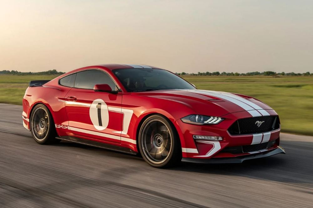 Hennessey Ford Mustang Heritage Edition