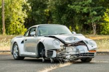 Porsche 959 Komfort 1987 accidentado