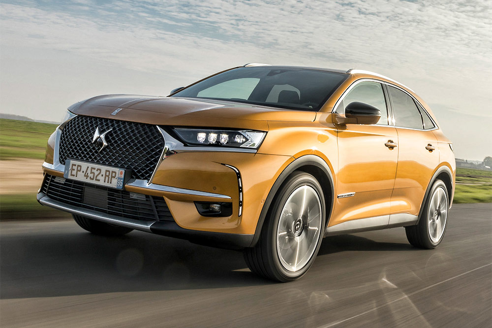prueba DS 7 Crossback blueHDI 180 Grand Chic Opera