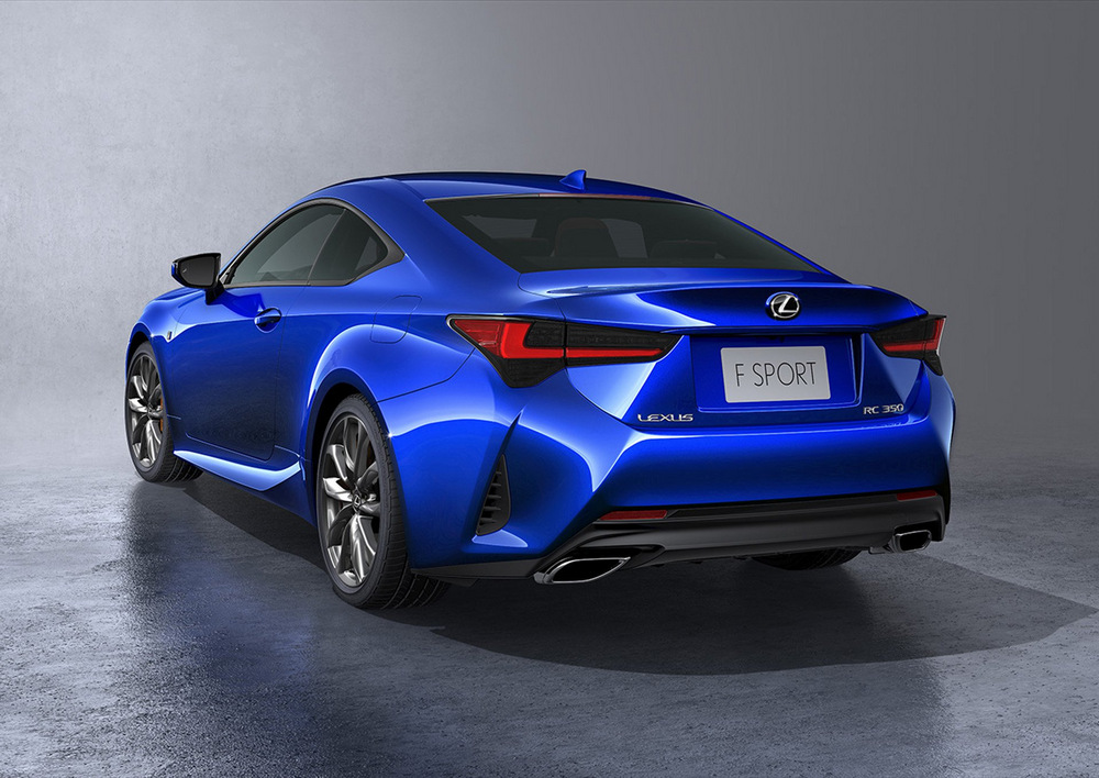 lexus rc 300h 2019 ligeros cambios para el coup japon s periodismo del motor. Black Bedroom Furniture Sets. Home Design Ideas