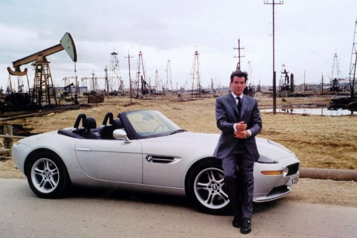 Los coches de Pierce Brosnan