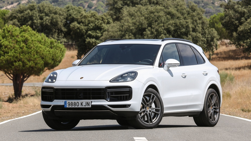 Porsche Cayenne Turbo frontal