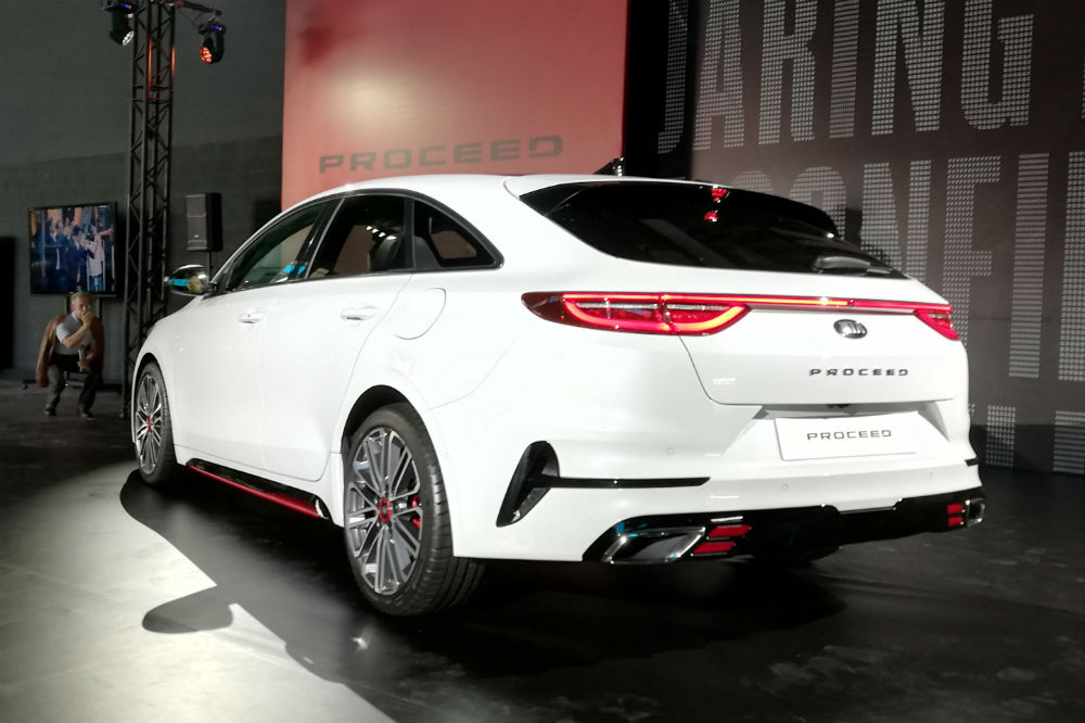 kia proceed  ahora en formato shooting brake