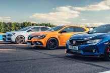 Honda Civic Type R vs Renault Megane RS vs Hyundai i30 N