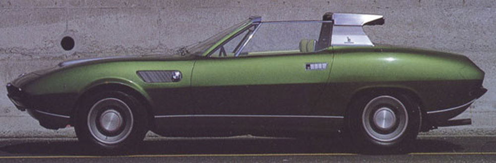 BMW 2800 Bertone Spicup lateral
