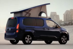 cama superior Peugeot Rifter by Tinkervan