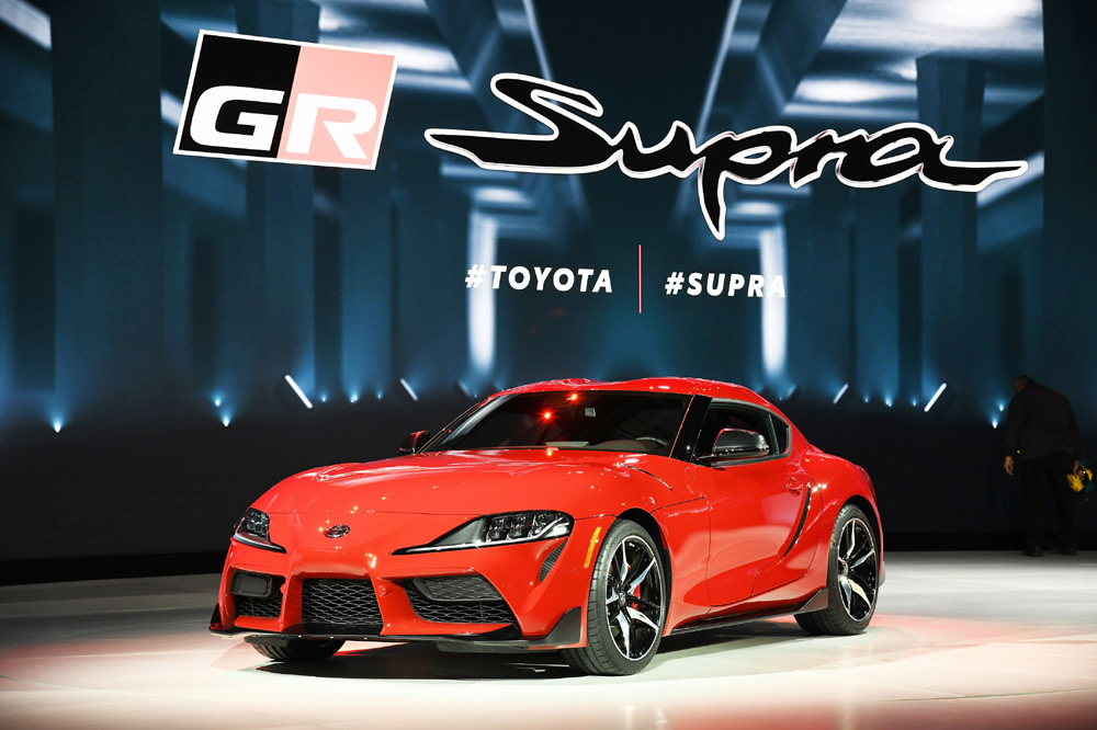 Toyota Supra A90 frontal