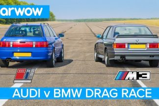 BMW M3 E30 vs Audi RS2