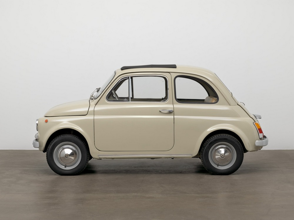 Fiat 500 serie F lateral