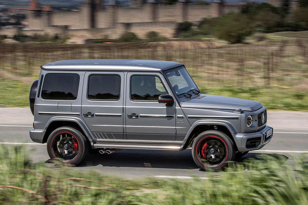 Prueba Mercedes-AMG G63 Edition 1 lateral