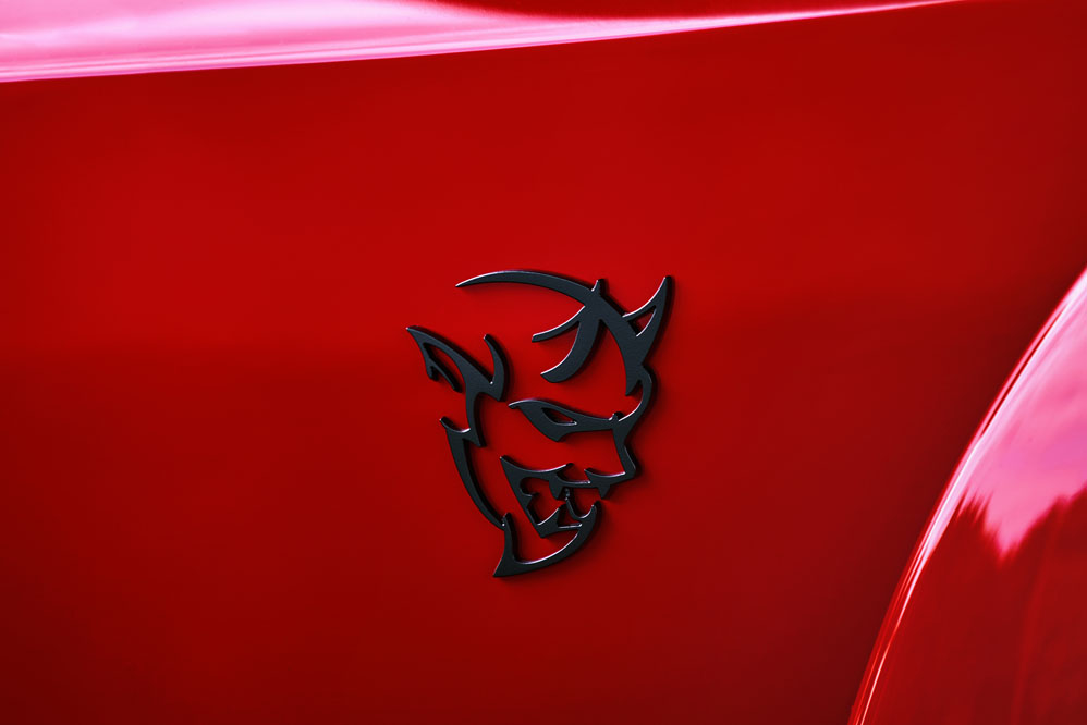 logo Dodge Challenger SRT Demon