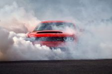 burnout Dodge Challenger SRT Demon