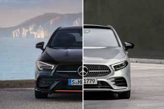Diferencias Mercedes Clase A Sedan vs Mercedes CLA