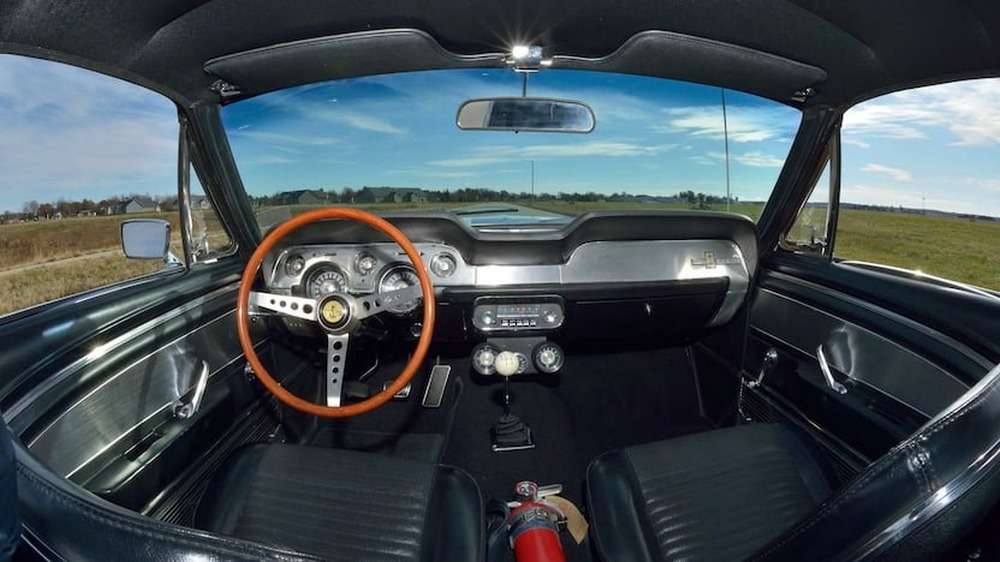 Shelby GT500 Super Snake de 1967 interior