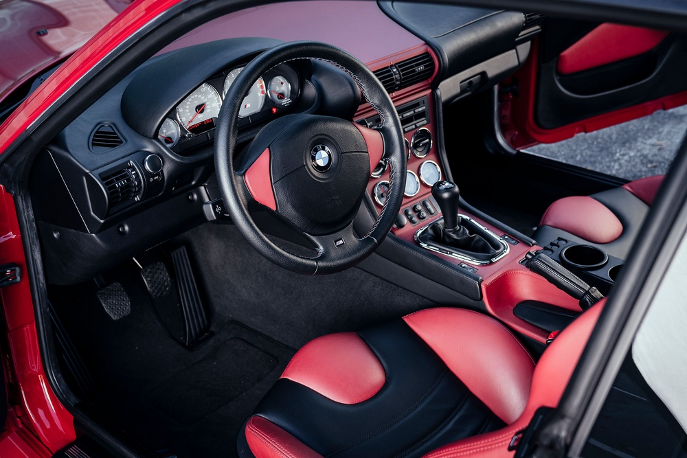BMW Z3 M Coupé interior