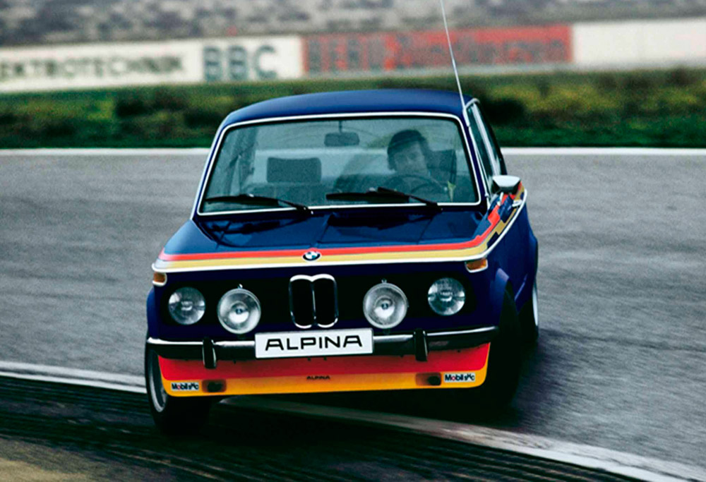 BMW 2002 Ti Alpina drift
