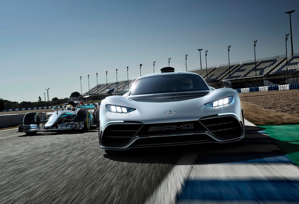 Mercedes-AMG Project One mejor superdeportivo