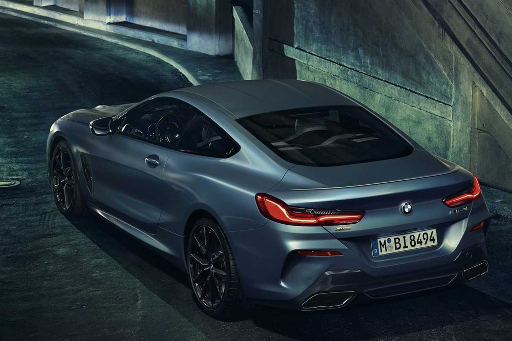 BMW M850i xDrive Coupé First Edition trasera