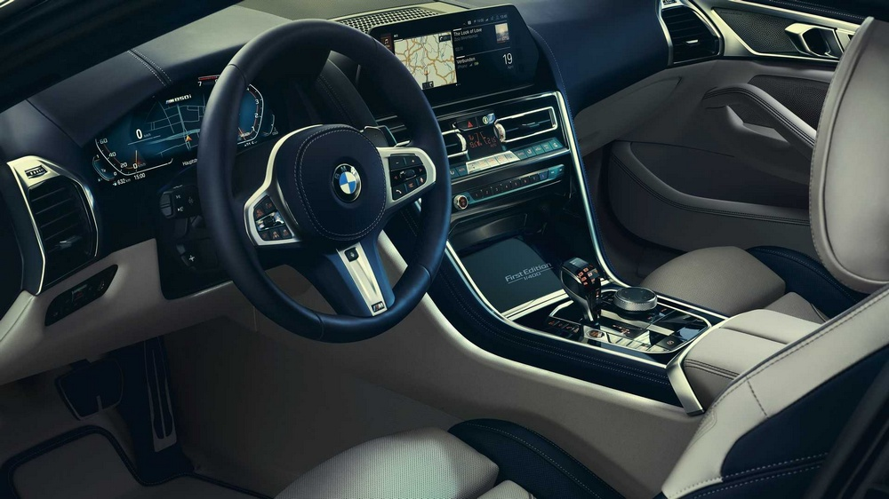 BMW M850i xDrive Coupé First Edition interior