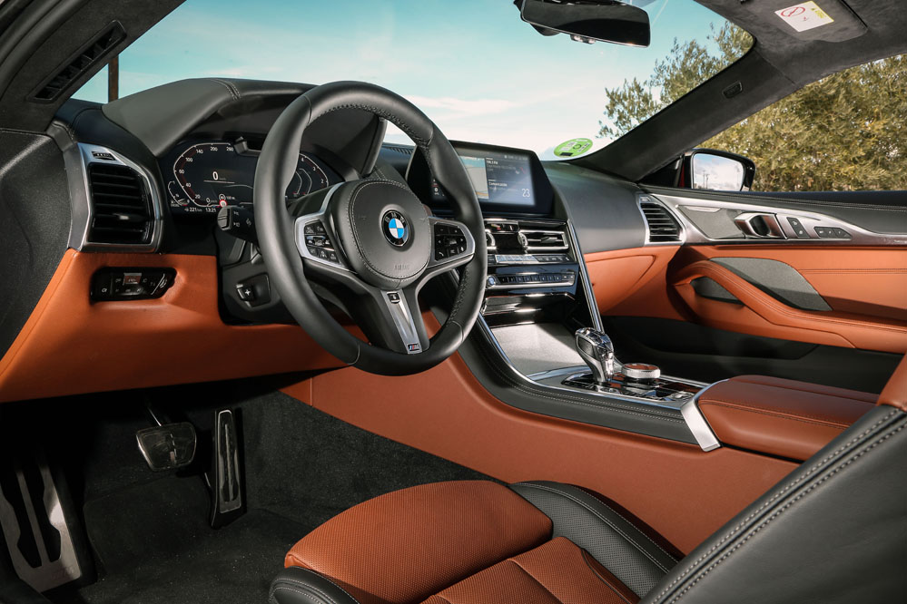 Interior BMW 840d Coupé xDrive