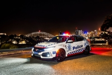 Honda Civic Type R Policia