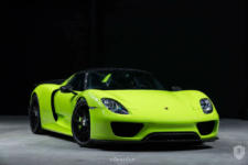 Porsche 918 Spyder Acid Green