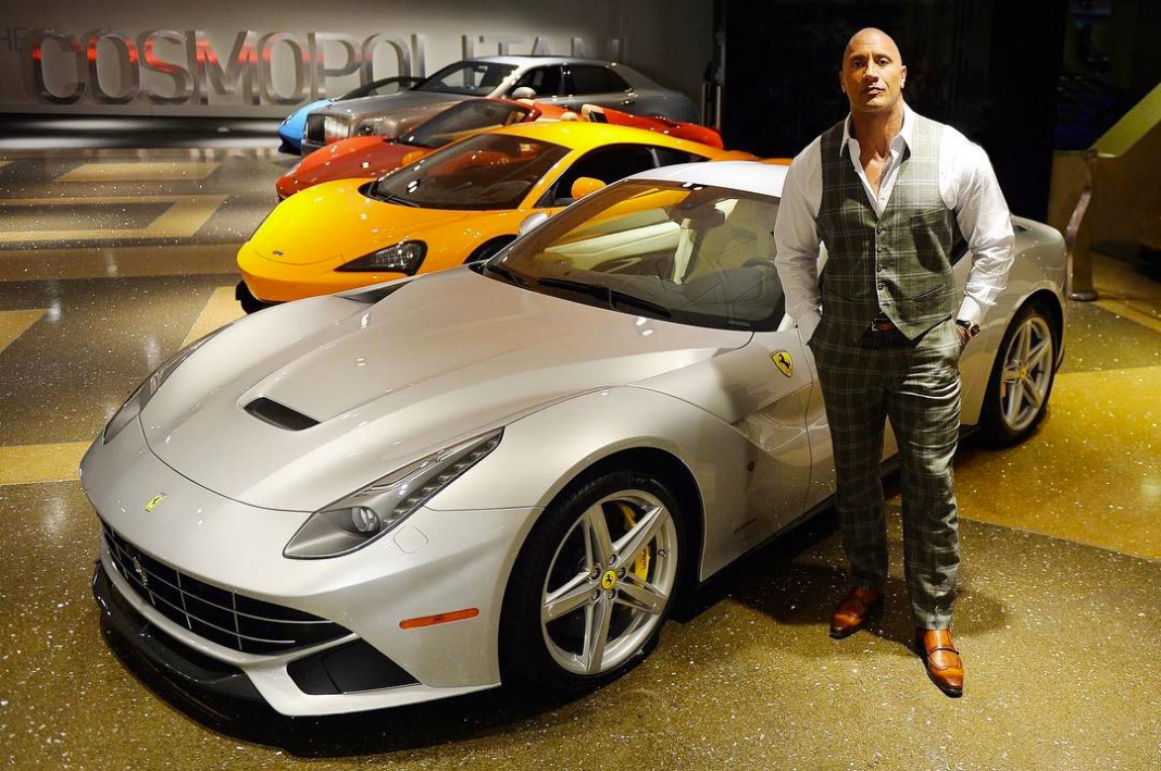 Los coches de Dwayne Johnson 'The Rock'