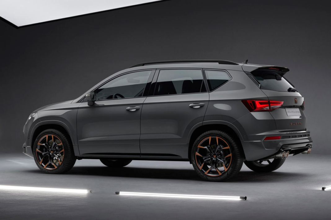 Ford Escape Se >> CUPRA Ateca Special Edition, con escape Akrapovic ...