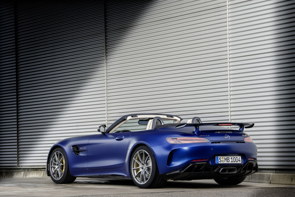 Mercedes-AMG GT R Roadster trasera