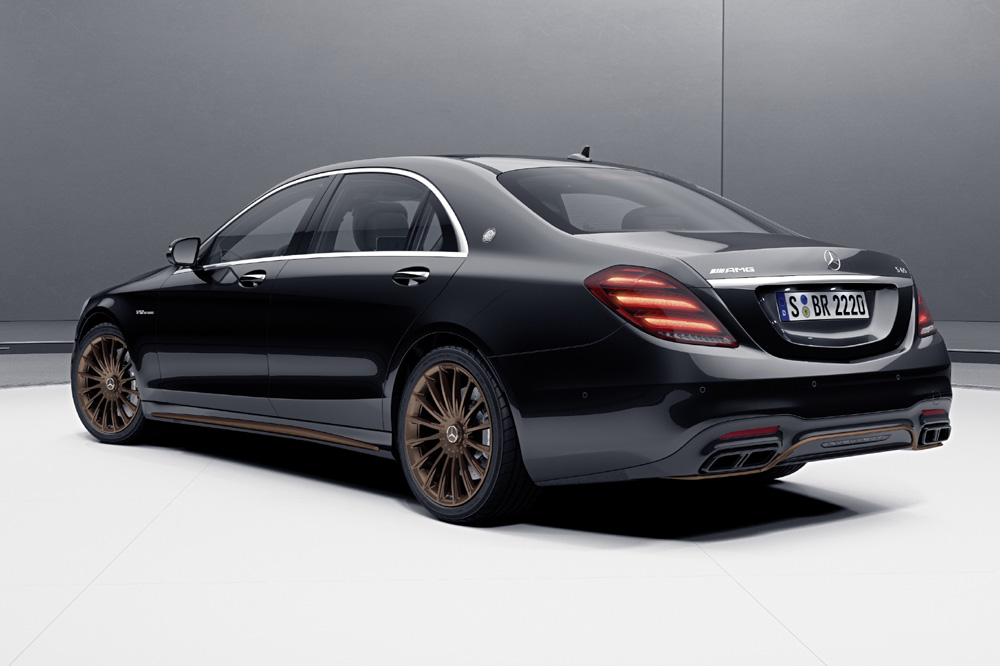 Mercedes-AMG S 65 Final Edition trasera