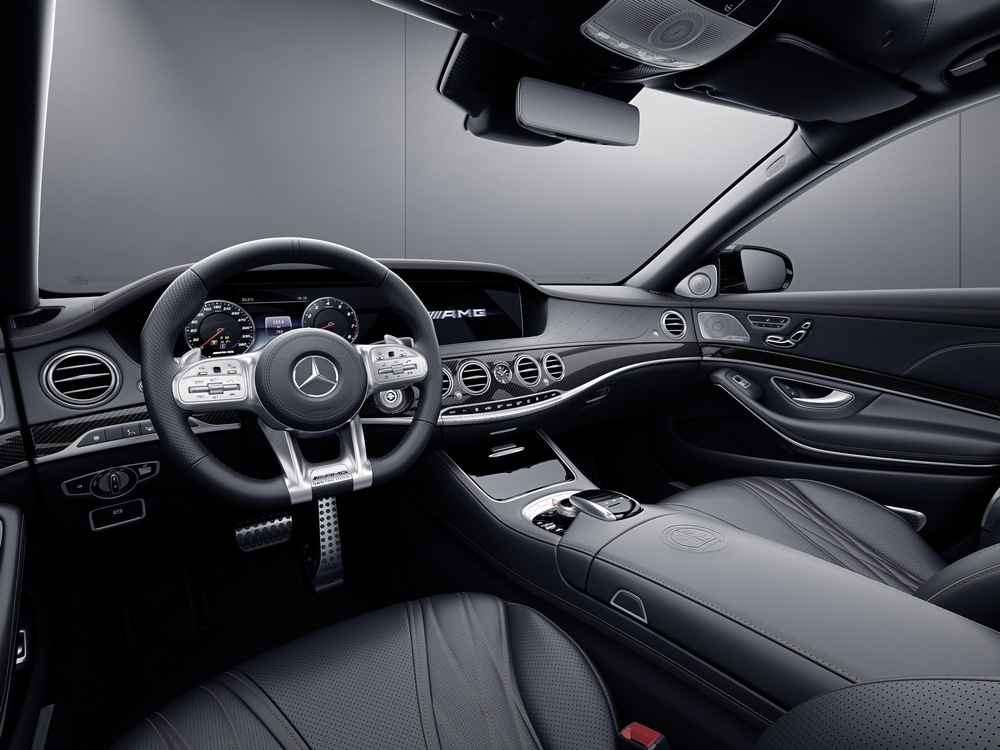 Mercedes-AMG S 65 Final Edition interior