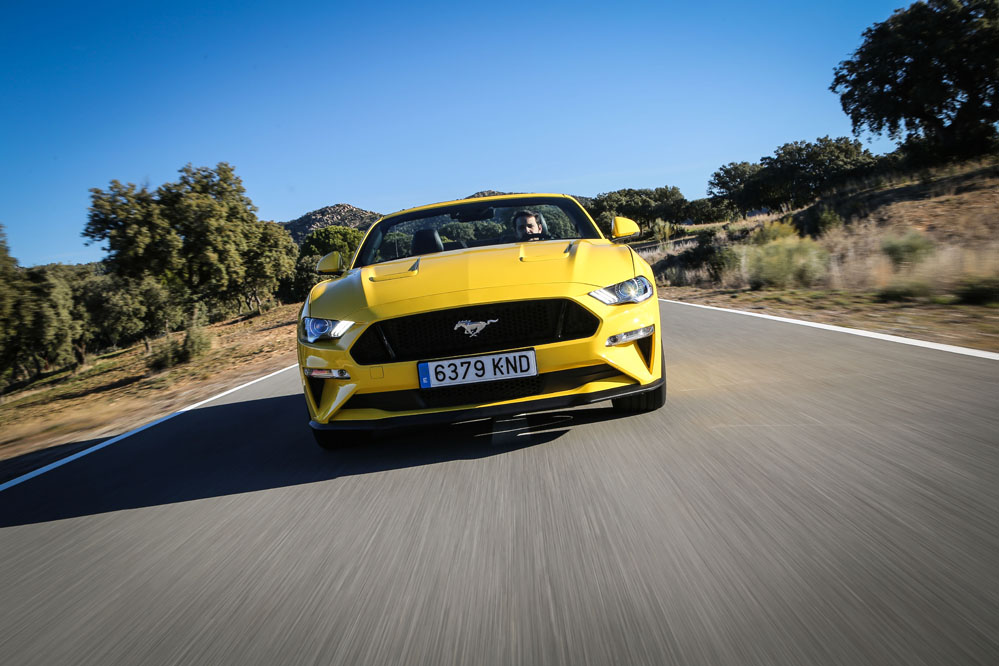 prueba Ford Mustang Convertible GT 5.0 Ti-VCT V8 Aut. 10 velocidades