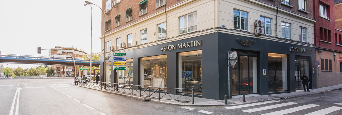 Concesionario Aston Martin Madrid