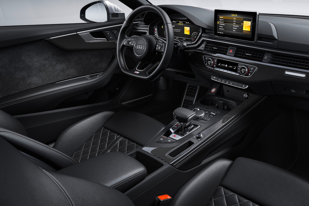 Audi S5 Coupé TDI 2019 interior