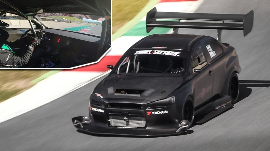 Mitsubishi Lancer Evo X Time Attack