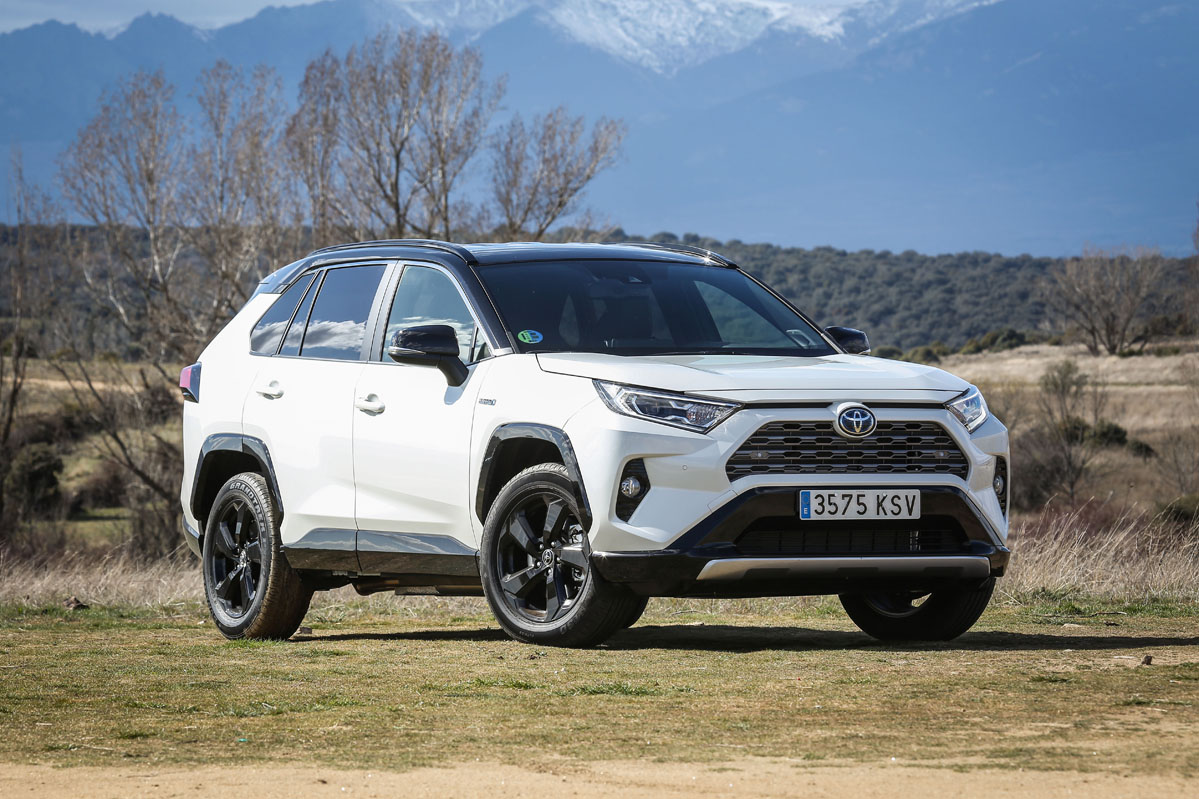 prueba toyota rav4 hybrid 4x2 2019 periodismo del motor. Black Bedroom Furniture Sets. Home Design Ideas