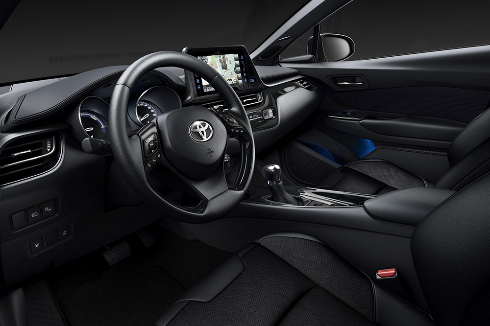 Toyota C-HR Limited Edition interior