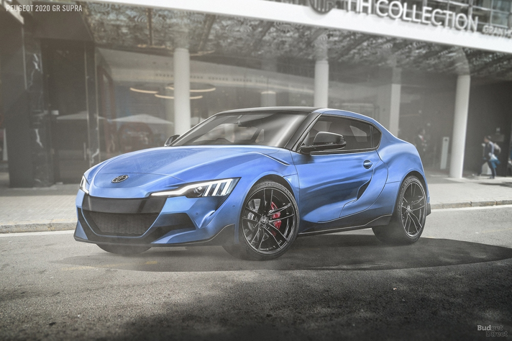 Toyota GR Supra by Peugeot