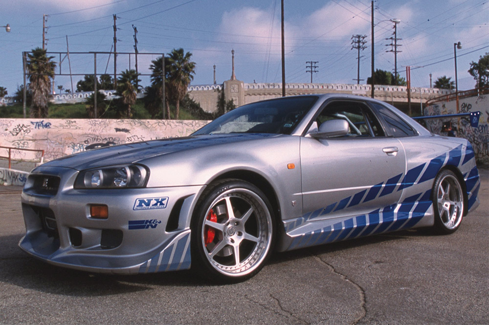 coches a todo gas 2 nissan skyline