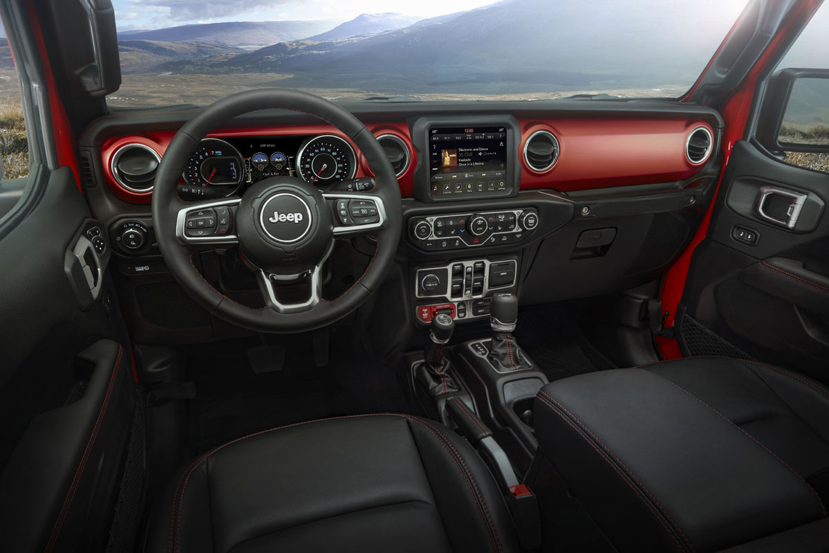 interior Jeep Gladiator 2019