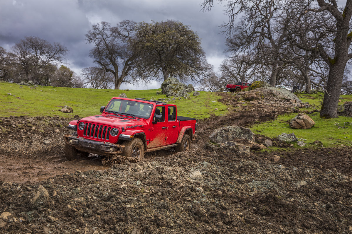 Prueba off road Jeep Gladiator 2019 V6 3.6 285 CV