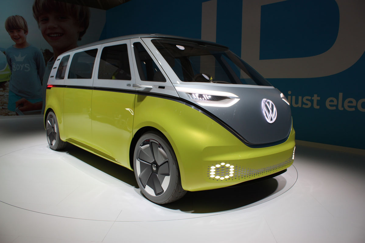 Volkswagen I.D Buzz en la Volkswagen Group Night