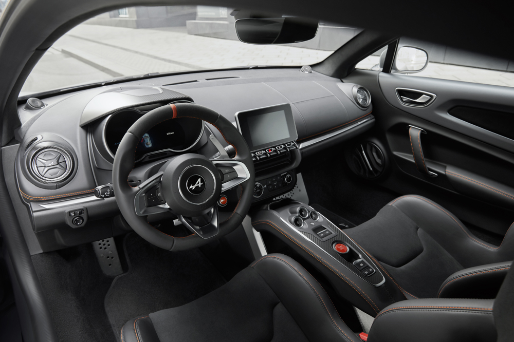 Alpine A110S interior