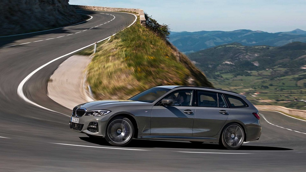 BMW Serie 3 Touring 2019 lateral